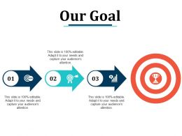 Our Goal Arrow Ppt Pictures Design Templates