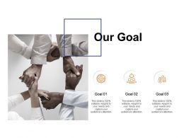 Our Goal Arrows Growth C131 Ppt Powerpoint Presentation Model Clipart