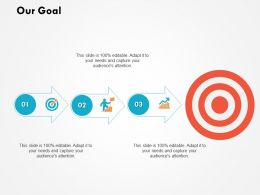 Our Goal Arrows Management C619 Ppt Powerpoint Presentation Gallery Graphics Pictures