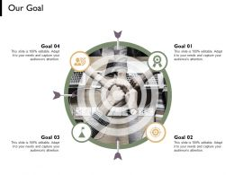 Our Goal Arrows Management C741 Ppt Powerpoint Presentation File Summar