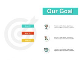 Our Goal Competition J148 Ppt Powerpoint Presentation File Show