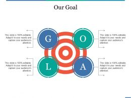 Our Goal Example Of Ppt Presentation