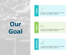 Our Goal Growth A544 Ppt Powerpoint Presentation Layouts Graphic Tips