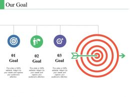 Our Goal Marketing Management Ppt Powerpoint Presentation Layouts Graphics Tutorials