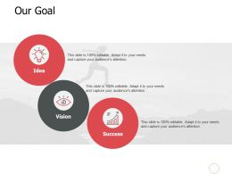 Our Goal Mission Vision A534 Ppt Powerpoint Presentation Gallery Diagrams