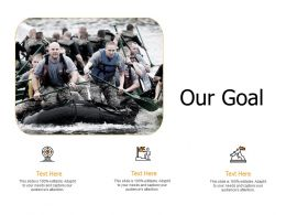 Our Goal Planning I344 Ppt Powerpoint Presentation Ideas Elements