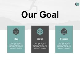 Our Goal Planning Success A491 Ppt Powerpoint Presentation Professional Portfolio