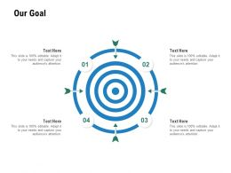 Our Goal Planning Success Ppt Powerpoint Presentation Layouts Design Templates
