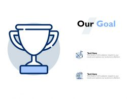 Our Goal Portfolio E15 Ppt Powerpoint Presentation Icon Backgrounds
