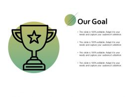 Our Goal Portfolio F737 Ppt Powerpoint Presentation File Structure