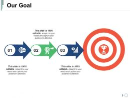 Our Goal Powerpoint Slide Background Image