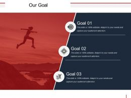 Our Goal Powerpoint Slide Backgrounds
