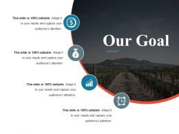 Our Goal Powerpoint Slide Design Ideas