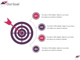Our Goal Powerpoint Slide Designs