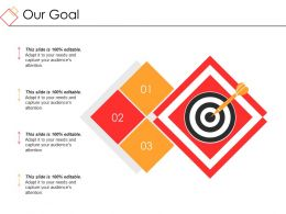 Our Goal Powerpoint Slide Designs Download