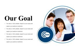 Our Goal Powerpoint Slide Images Template 2