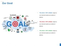 Our Goal Powerpoint Slide Presentation Guidelines Template 1