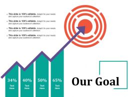 Our Goal Powerpoint Slide Show