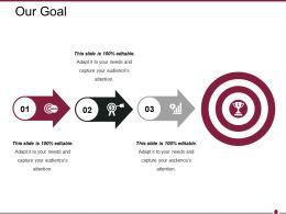Our Goal Powerpoint Slide Templates 1
