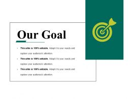 Our Goal Powerpoint Slides