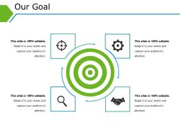 Our Goal Powerpoint Templates Microsoft Template 1