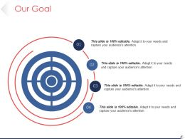 Our Goal Powerpoint Topics Template 1