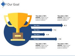 Our Goal Ppt Background Graphics