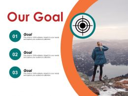 Our Goal Ppt Background Template Template 1