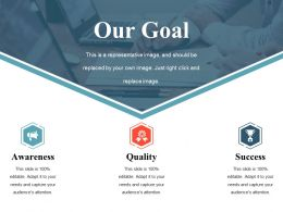Our Goal Ppt Backgrounds