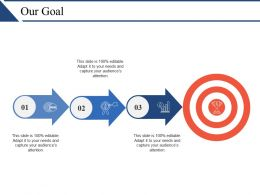 Our Goal Ppt Design Ideas