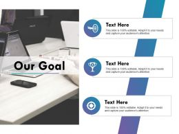 Our Goal Ppt Design Powerpoint Slide Download