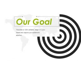 Our Goal Ppt Design Templates 1