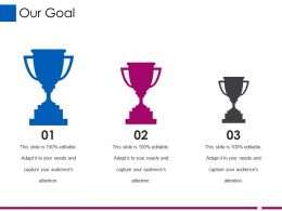 Our Goal Ppt Designs Download