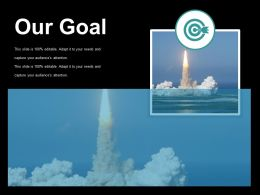 Our Goal Ppt Examples Professional