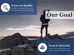 Our Goal Ppt File Show