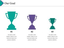 Our Goal Ppt Gallery Visuals