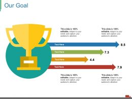 Our Goal Ppt Good