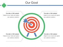Our Goal Ppt Icon