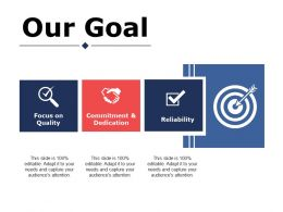 Our Goal Ppt Icon Show