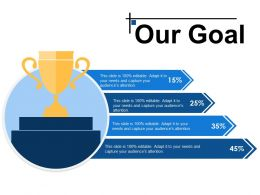 Our Goal Ppt Infographic Template Themes