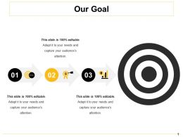 Our Goal Ppt Inspiration Example File