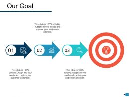 Our Goal Ppt Inspiration Styles