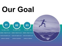 Our Goal Ppt Introduction
