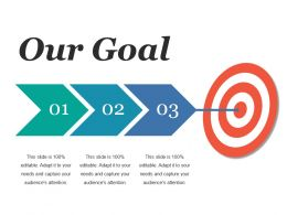 Our Goal Ppt Microsoft