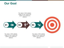 Our Goal Ppt Pictures Design Inspiration