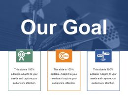 Our Goal Ppt Portfolio Background Images