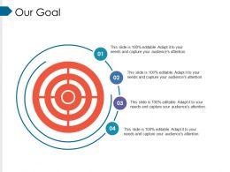 Our Goal Ppt Portfolio Sample