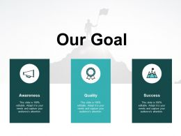 Our Goal Ppt Powerpoint Presentation File Display