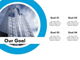 Our Goal Ppt Powerpoint Presentation File Infographics