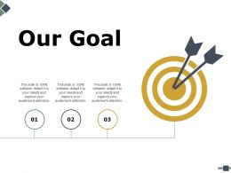 Our Goal Ppt Powerpoint Presentation File Introduction